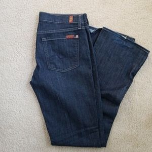 7 For All Mankind bootcut DARK jeans